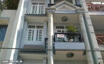 Nhà mới xây kiên cố đường Nguyễn Thái Bình quận Tân Bình