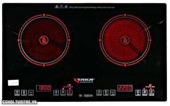 Bếp hồng ngoại đôi Taka TK-DQ02A