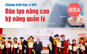 Chương trình thạc sĩ UEF đào tạo nâng cao kỹ năng quản lý