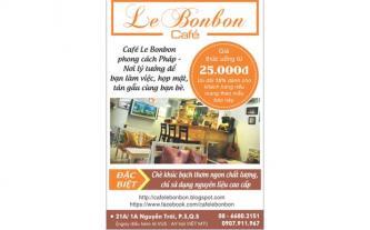 Điểm hẹn lý tưởng mang phong cách Pháp tại Le Bonbon Café