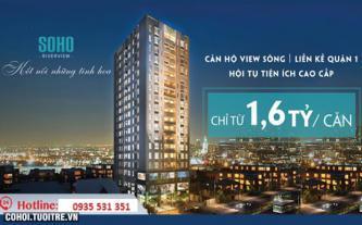 Mở bán 40 căn hộ cuối trong dự án Soho Riverview