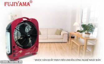 Quạt sạc điện đa năng Fujiyama cho ngày nóng mất điện