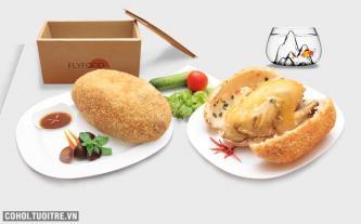 Món gà bó xôi ngon tại Flyfood.vn