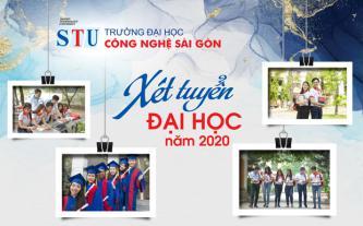 Trường ĐH Công nghệ Sài Gòn xét tuyển ĐH năm 2020