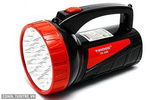 Đèn pin sạc điện Tiross TS689