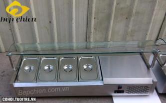 Bàn giữ lạnh thức ăn salad VRX1400/330