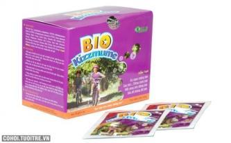 Bio Kizzmume hỗ trợ, giúp bé ăn ngon mỗi ngày