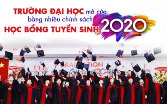 Trường đại học mở cửa bằng nhiều chính sách học bổng tuyển sinh 2020