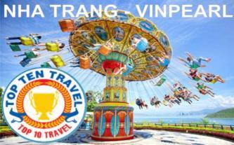 Tour Nha Trang - Khách sạn 3 sao - bao vé Vinpearl Land
