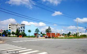 Bán đất trong khu trung tâm thị xã Bình Dương