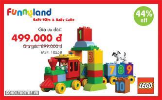 Giảm đến 50% đồ chơi trẻ em chính hãng tại Funnyland