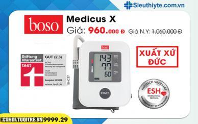 Ảnh: Máy đo huyết áp của Đức được tin dùng hiện nay