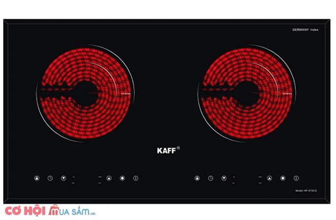 Xả kho bếp hồng ngoại đôi Kaff KF-073CC