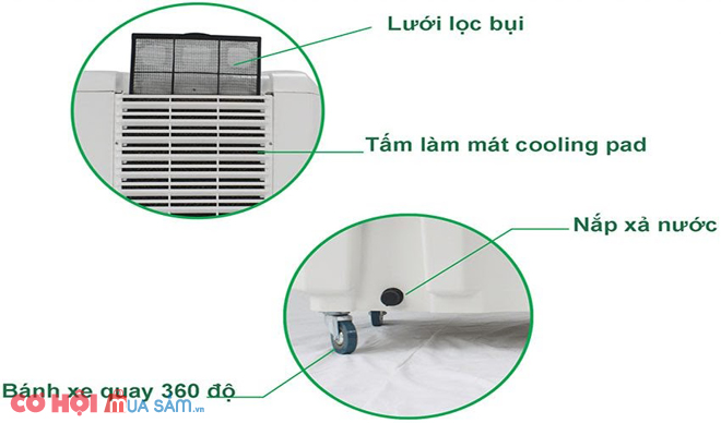Máy làm mát không khí Kamisu HT-1000