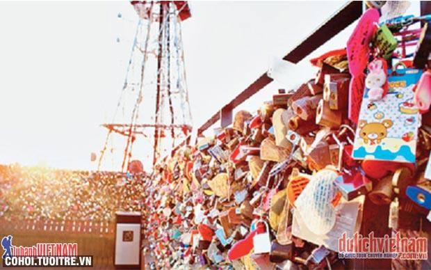 Tour hè Hàn Quốc ưu đãi đến 4 triệu đồng