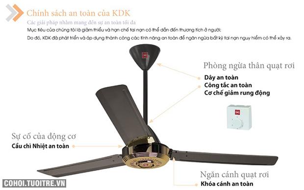 Quạt trần KDK N56YG