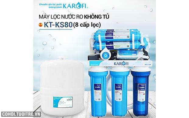 Máy lọc nước RO để gầm, không tủ sRO KAROFI KT-KS80