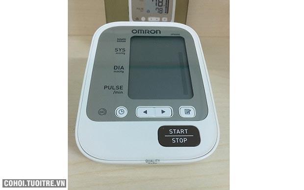 Máy đo huyết áp bắp tay Omron JPN600, Nhật Bản