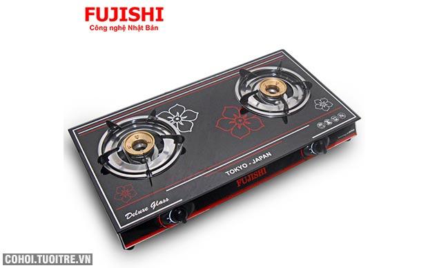 Bếp BIOGAS chén đồng kính cường lực Fujishi FJ-BG7