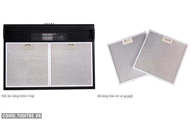 Máy hút mùi bếp 7 tấc kính cong TAKA HC270B
