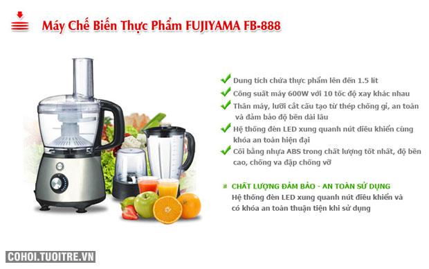 Máy chế biến thực phẩm FUJIYAMA FB-888