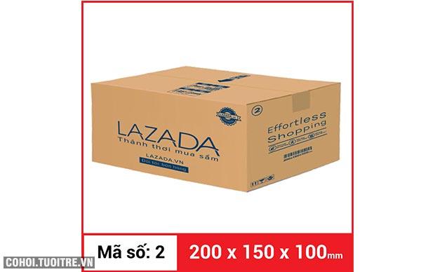 Thùng carton gói hàng kích thước 200 x 150 x 100mm