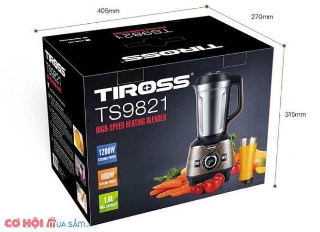 Máy làm sữa hạt đa năng Tiross TS9821