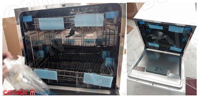 Máy rửa chén cảm ứng tự động KAFF KF-SW800