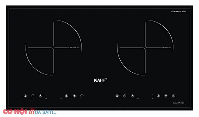 Xả kho bếp đôi điện từ Kaff KF-073II