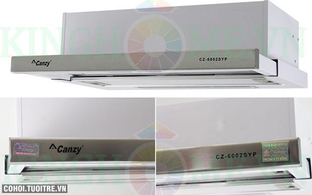 Máy hút mùi âm tủ Canzy CZ-6002 SYP