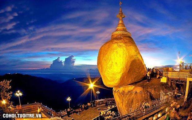 Tour hành hương Myanmar giá rẻ