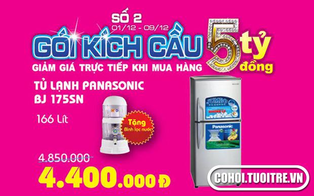 Tủ lạnh Panasonic Model NR-BJ175SNVN