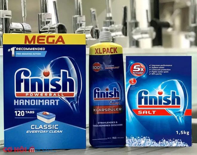 Viên rửa bát Finish Classic 120 viên
