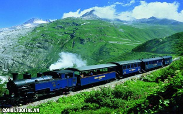 Tour du lịch Ý - Thụy Sĩ