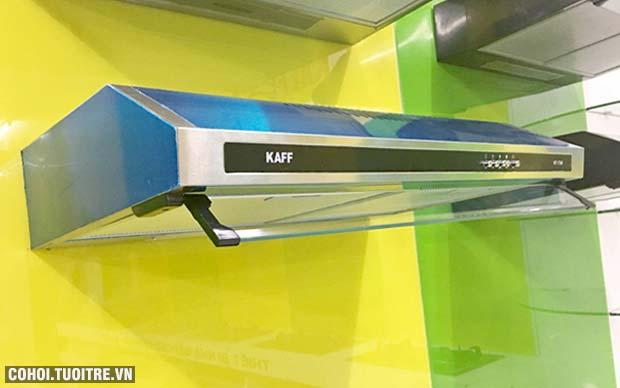 Máy hút mùi bếp 7 tấc inox Kaff KF-738i