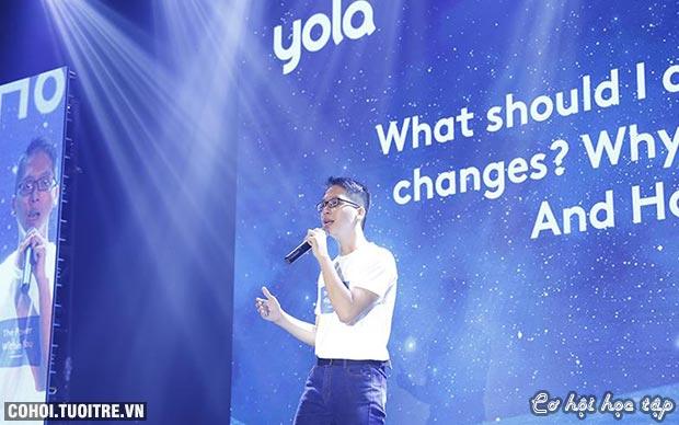 YOLA Send-Off 2018 để sức mạnh tiềm năng không còn ngủ yên