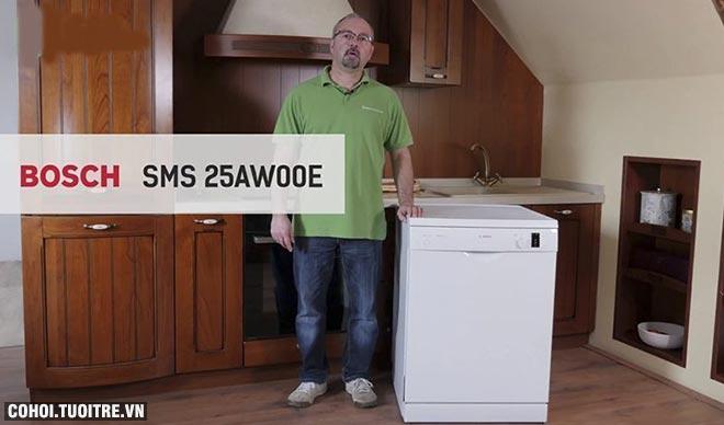 Máy rửa chén Bosch SMS25AW00E