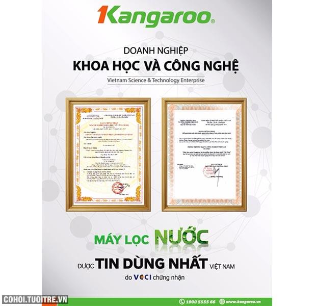 Máy lọc nước RO bán công nghiệp KANGAROO KG-400, 8 cấp lọc
