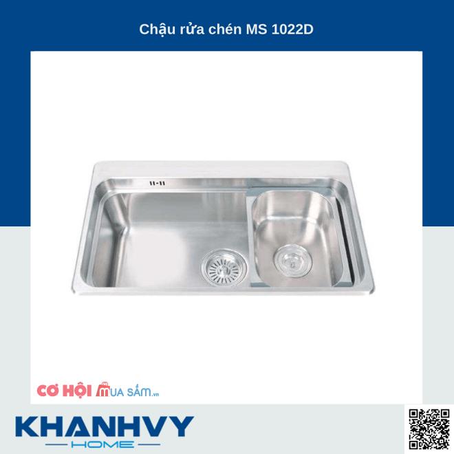 Top 6 chậu rửa chén Malloca giá ưu đãi tại Khánh Vy Home