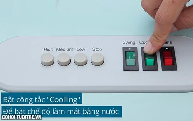 Quạt hơi nước, máy làm mát điều hòa không khí FujiE AC-50