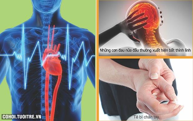 Phòng ngừa chuột rút, rối loạn nhịp tim