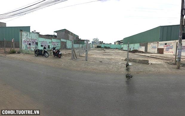 Cần sang đất mặt tiền ở P.An Phú Đông, Q.12