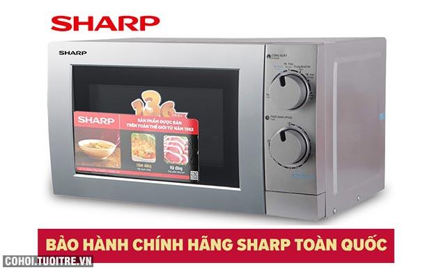 Xả kho lò vi sóng Sharp R-207VN-SL giá từ 1,09 triệu