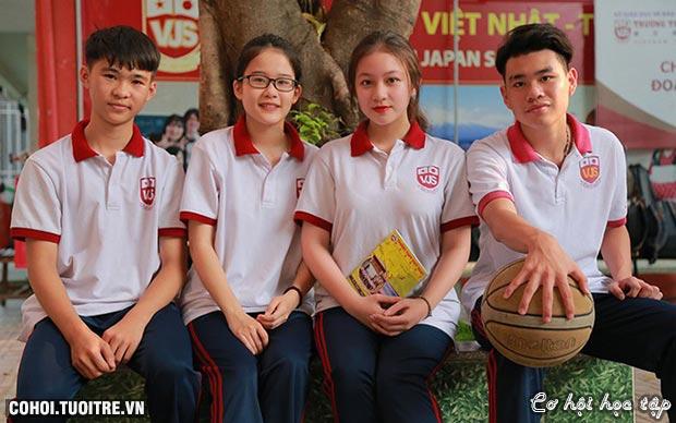 THPT Việt Nhật - giáo dục gắn liền trải nghiệm sáng tạo
