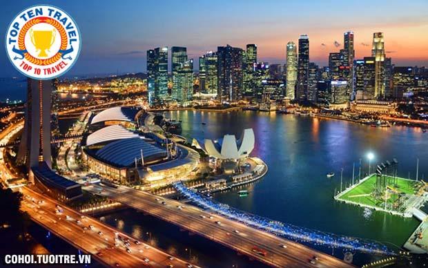 Tour Sin - Ma - Indonesia giảm 1 triệu đồng/khách