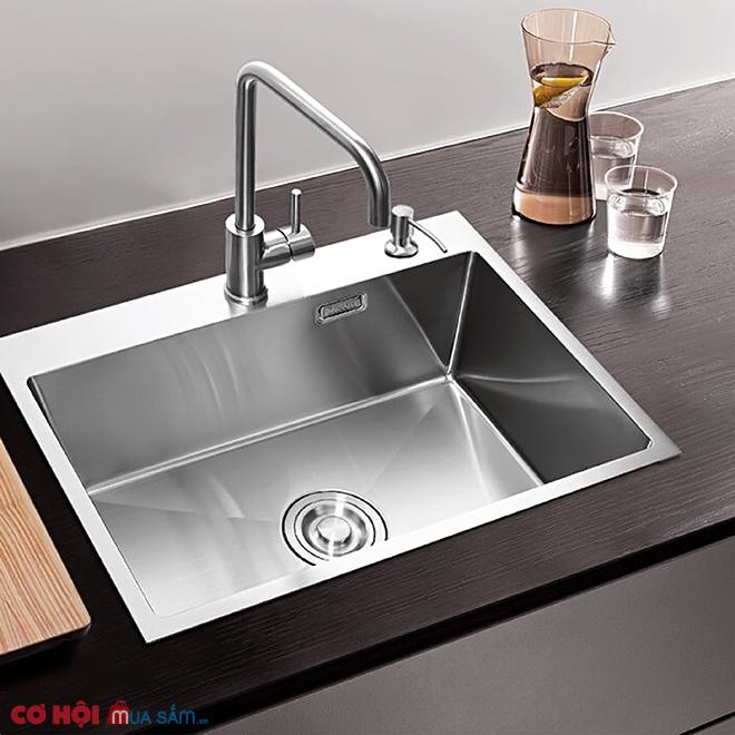 Xả kho chậu rửa bát inox 304 KAFF KF-HM6045