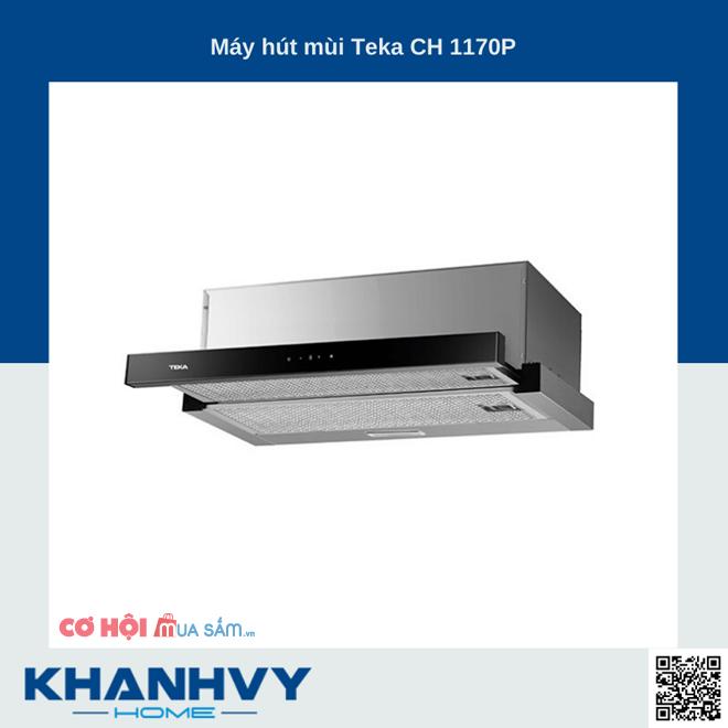Top 5 máy hút mùi Teka bán chạy ưu đãi tại Khánh Vy Home