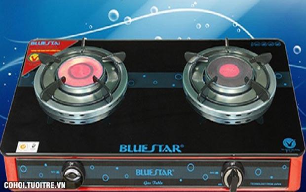 Bếp gas hồng ngoại Bluestar NG-718C Slim 2 vòng nhiệt