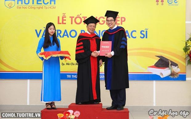 Đại học HUTECH tuyển sinh 11 ngành trình độ Thạc sĩ