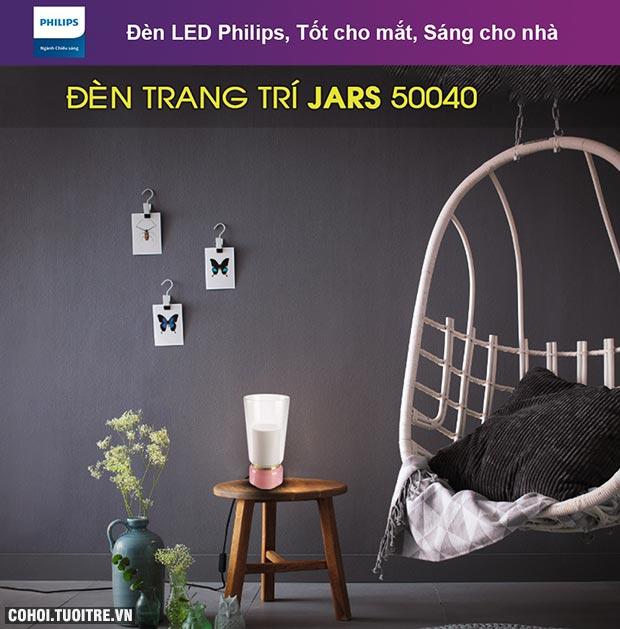 Đèn để bàn trang trí Philips Jars 50040